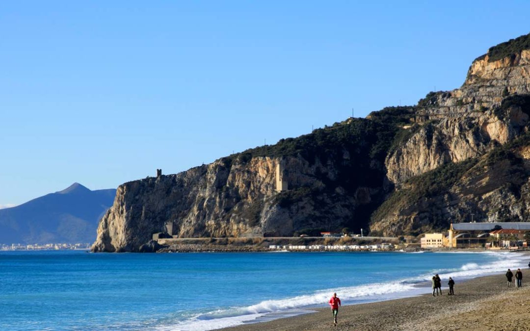 The Cave of the Candid Arenas of Finale Ligure