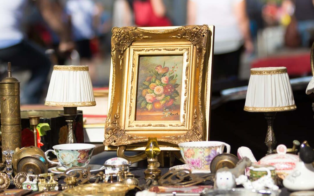 The antiques markets in Liguria in September